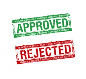 Approved and Rejected Applications